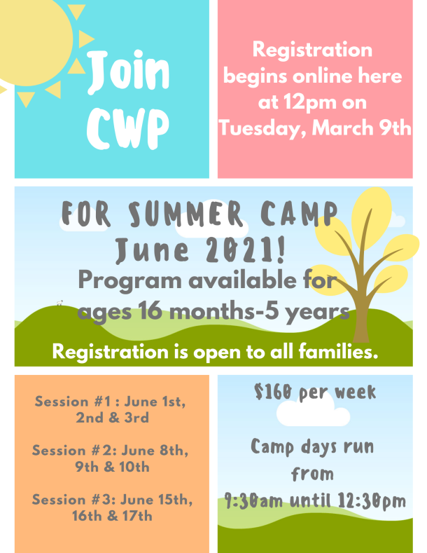 2021_CWP Summer Camp_New Family Flyer